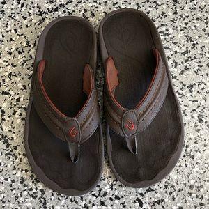 OluKai Hokua brown Men's Sandals